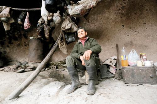79岁的卢卡由祖父在山下小镇养大,自小梦想便是离群索居。