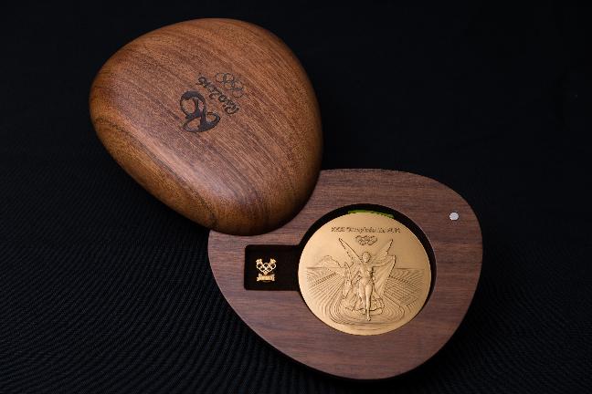 外媒称,2016年里约奥运会和残奥会的奖牌的制作是艺术和科技的结合。