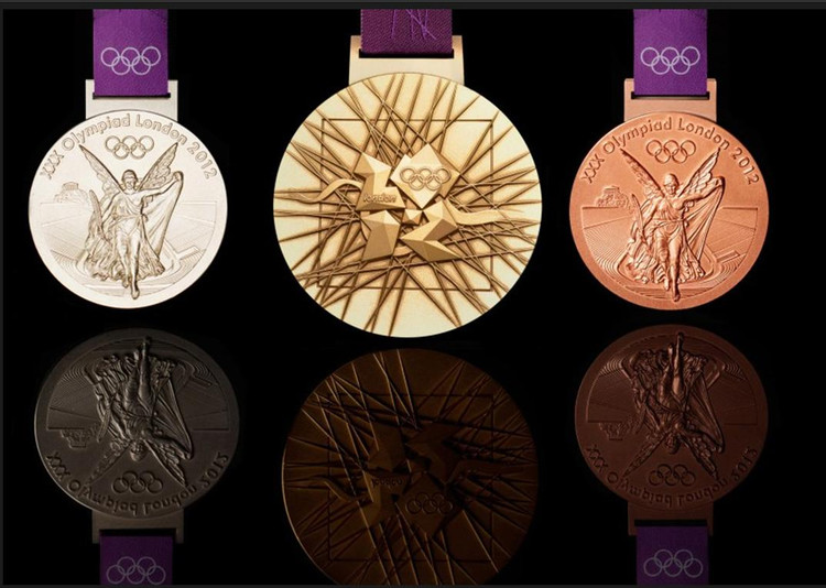 里约奥运金牌含6克金494克银 价值3900元