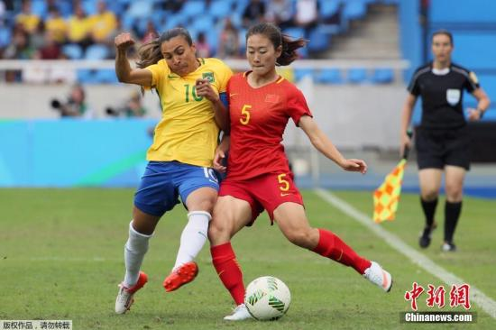 中国女足奥运首战不敌巴西 马塔妙答 退役 问题 组图 当地时间8月3日,2016里约奥运会女足E组首轮比赛,中国女足在