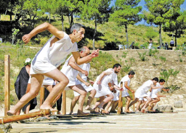 古代奥运会:以和平的方式演绎战争