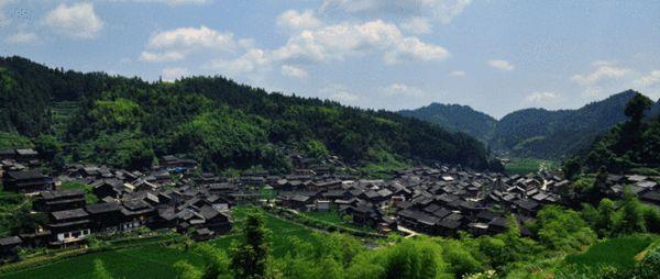 地扪侗寨--摄影:杨志勋