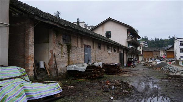 位于茅贡镇的粮库艺术中心原貌
