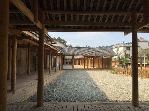 改造中的粮库艺术中心--场域建筑