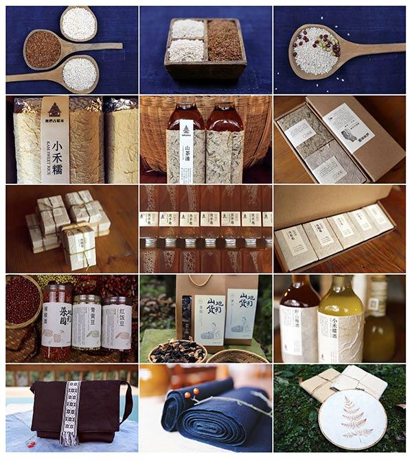 产品生产:创意乡村联盟研发的产品
