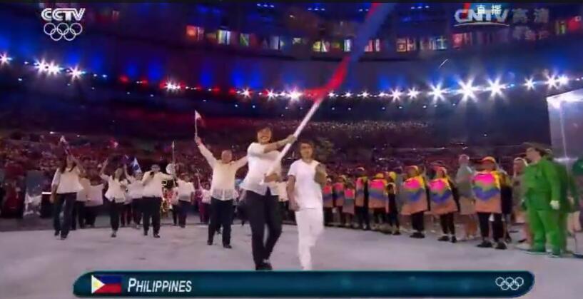 菲律宾代表团进场