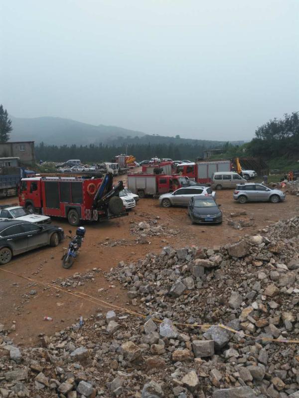河北唐山传递一采石场不法盗采致山体坍塌:2死1伤捕获4人。 家眷供图