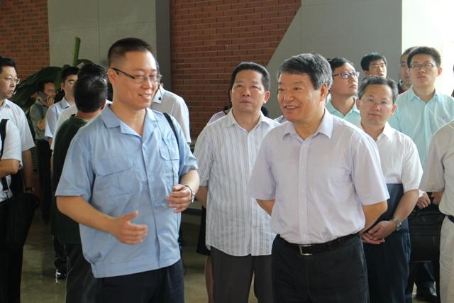 国家发展改革委主任徐绍史带队赴辽宁省调研东北振兴工作