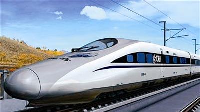 大国重器中的青岛元素:新型高速列车惊艳世界(组图)图片