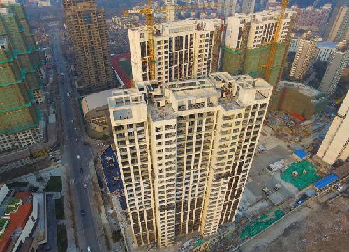 材料图:上海万万级豪宅榜样房外景