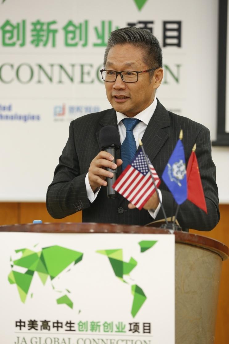 中国高中生来到美国创新中美高中生参加学习项态度高中生创业的图片