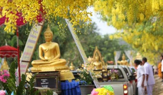 昆明信息港讯 记者张俊去泰国旅游绝对不能错过的就是这里各类节日,佛教活动、体育盛会、国际榴莲节等将把这个国家最纯真、最有魅力的一面展现给你。接下来我们就为您盘点一下泰国哪些不一样的节日。