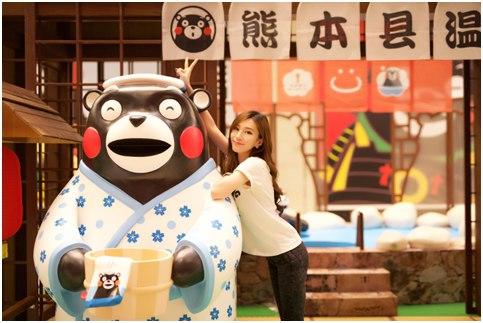 搜狐娱乐讯 作为宇宙超级第一网红,熊本县吉祥物kumamon已经被我大图片