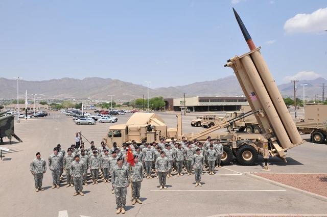 资料图:美军装备的THAAD反导系统