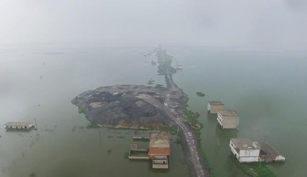 淮南采煤沉陷调查:五年后塌陷区抵百个西湖