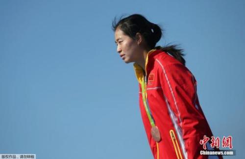 段静莉以7分24秒13的成绩摘得铜牌。