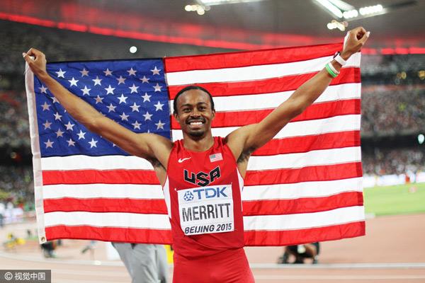 4,男子110米栏,成绩为12秒80,由美国名将梅里特2012年在比利时布鲁塞尔钻石联赛创造。