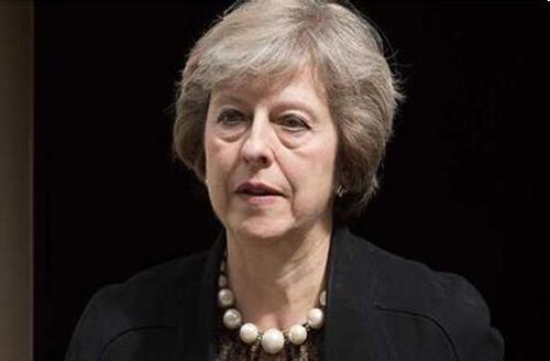 英国首相特雷莎・梅