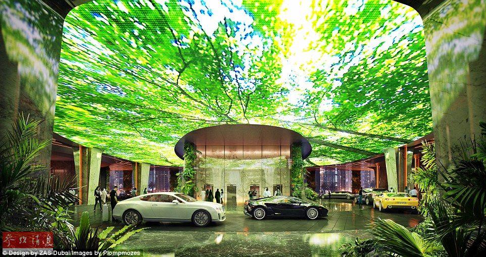 探访全球第一家拥有热带雨林的酒店 造价19.7亿(组图)图片