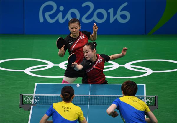 尽管福原爱先丢一分,但石川佳纯和伊藤美诚先后击败冯天薇,福原爱双打拿分,最终日本队总比分3-1力克新加坡获得季军,新加坡排名第四。赛后,福原爱激动不已,又一次哭了。