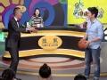 《明说奥运花絮》杜江与邱启明现场互动打篮球