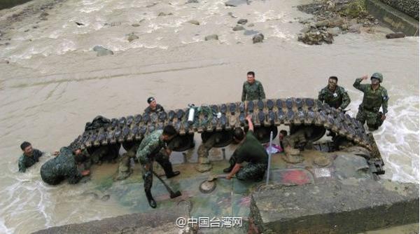 8月16日上午发生台陆军564装甲旅CM11战车坠河意外,造成3人死亡