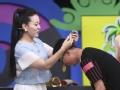 """《明说奥运花絮》高音女神""""超速""""夹乒乓球"""