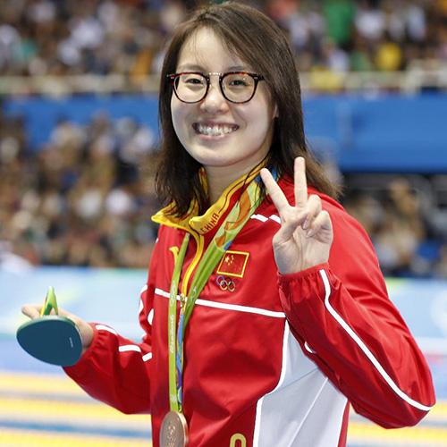 当日,在2016年里约奥运会女子100米仰泳决赛中,中国选手傅园慧以58秒图片