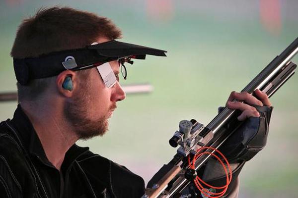 马修・埃蒙斯在里约奥运会上