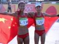 女子20公里竞走刘虹终点前绝杀夺金 吕秀芝铜牌