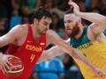 加索尔31+11米尔斯30分 西班牙胜澳大利亚获铜牌