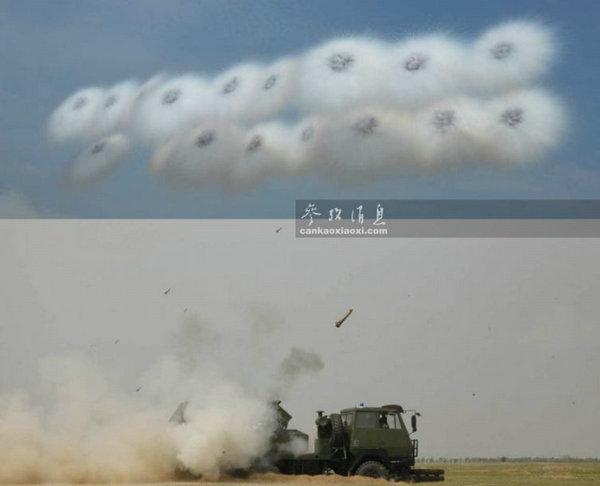 图为中国陆军的类似装备.-俄军用烟幕遮蔽战舰 解放军装备更先进