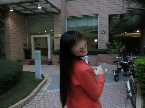 李红霞生前照片。