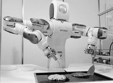 会做饭的机器人图片