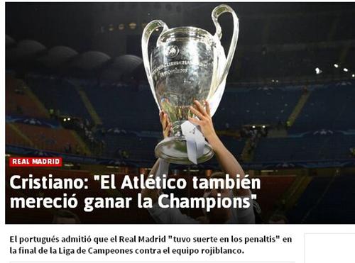 C罗:没想到葡萄牙能赢得欧洲杯 力争卫冕欧冠
