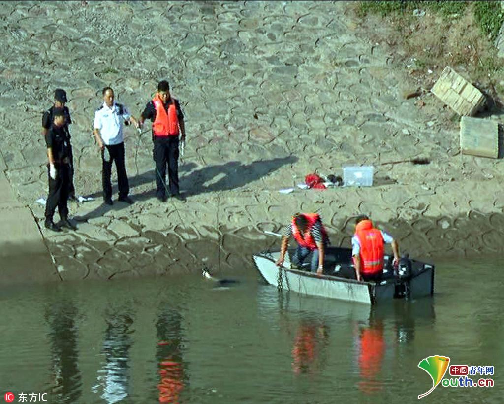 2016年8月24日早上6点多钟,有市民报警,在南京浦口大华附近朱家山河桥下,有两名30岁左右的女子都掉到水里了。随后警察和120救护人员先后赶到了现场,看到有一名男子正在岸边呼救,说是自己的女友和女友的姐姐掉水里了。
