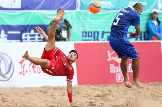 沙足亚锦赛-中国1-5负泰国获第六名 伊朗夺冠军