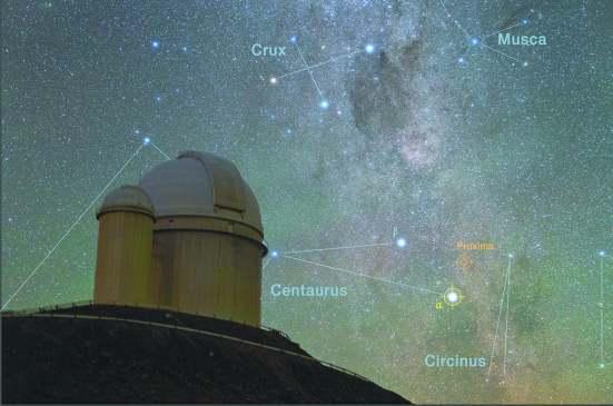 智利拉西亚天文台是此次科学家发现比邻星b的主要观测点