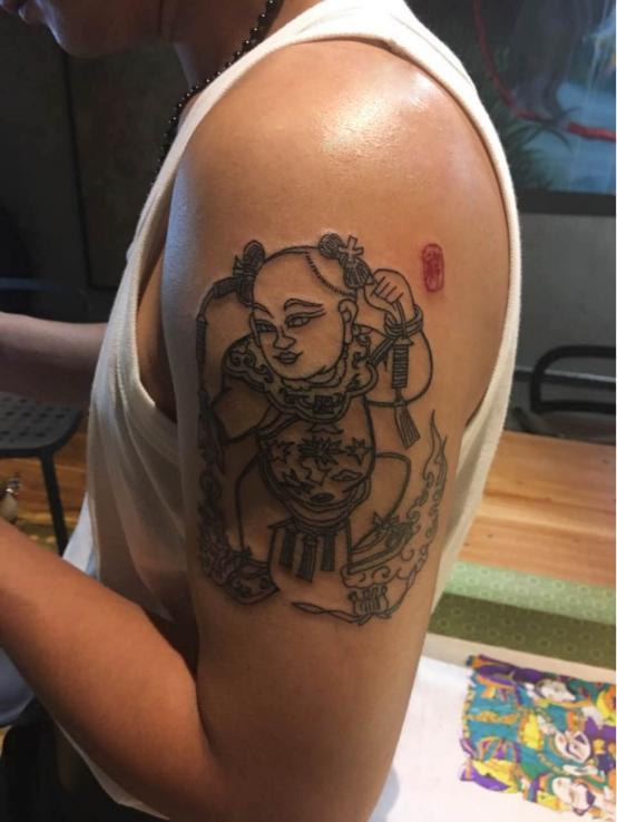 皮肤上的信仰——观tattoo&开封朱仙镇木版年画(图)