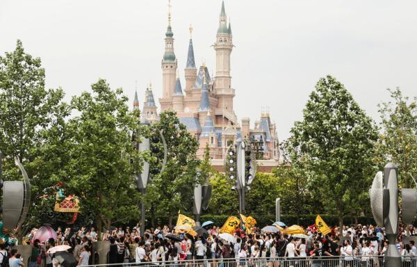 8月23日,上海市浦东公安分局全天时时计划旅游度假区公安处首次对外披露,自2016年5月上海迪士尼试运营开始,警方持续对活跃在度假区的黄牛进行打击。 澎湃新闻记者 贾茹 图