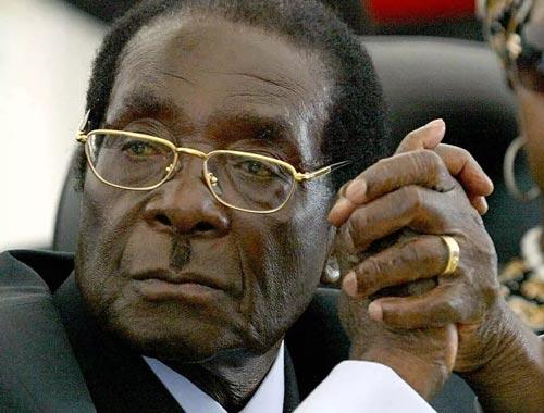 ͼ˵����Ͳ�Τ��ͳ�¼ӱ���Robert Mugabe��