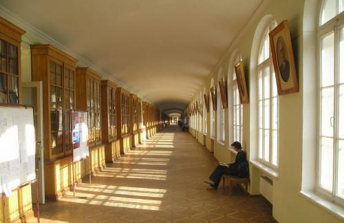 圣彼得堡大学校园一角