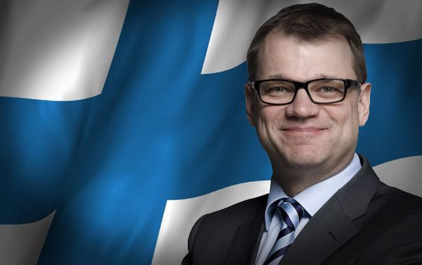 芬兰总理西皮莱(Juha Sipila)