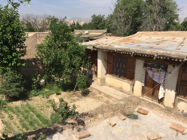 高承勇在老家甘肃榆中县青城镇城河村的房子。王健