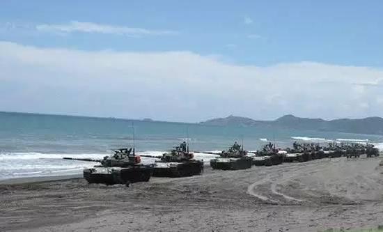 """台军""""汉光""""演习保留课目,""""战车逆袭滩头""""……上述这些目标都将成为远火旅打击的绝佳靶子"""