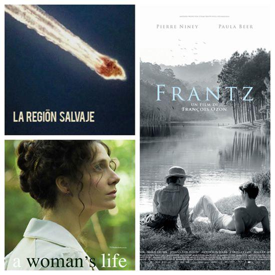 《弗兰兹》、《一个女人的生活》、《野蛮地区》等戛纳中生代导演的作品也入围