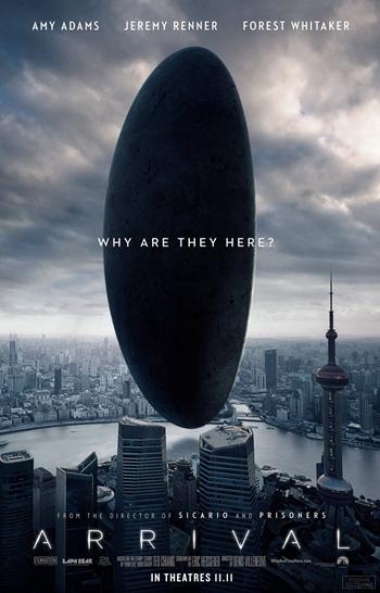 科幻片《降临》是影迷的年度期待之作