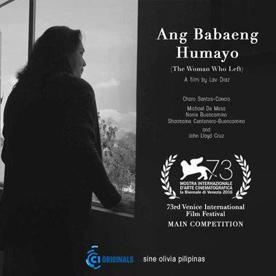 菲律宾老牌导演拉夫-达兹推出了226分钟的新片《离去的女人》
