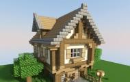 一键命令方块建造最小别墅