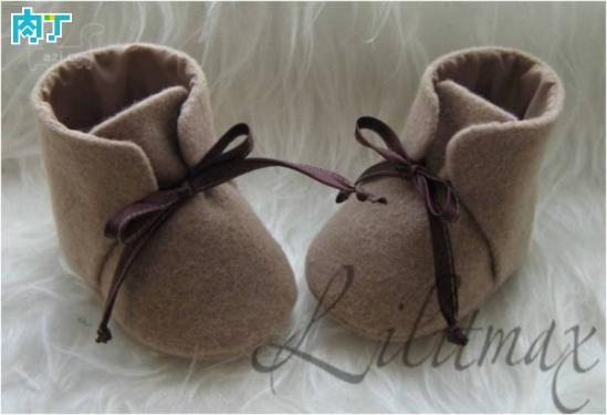 手工DIY手工布艺婴儿鞋宝宝鞋的做法图解图片